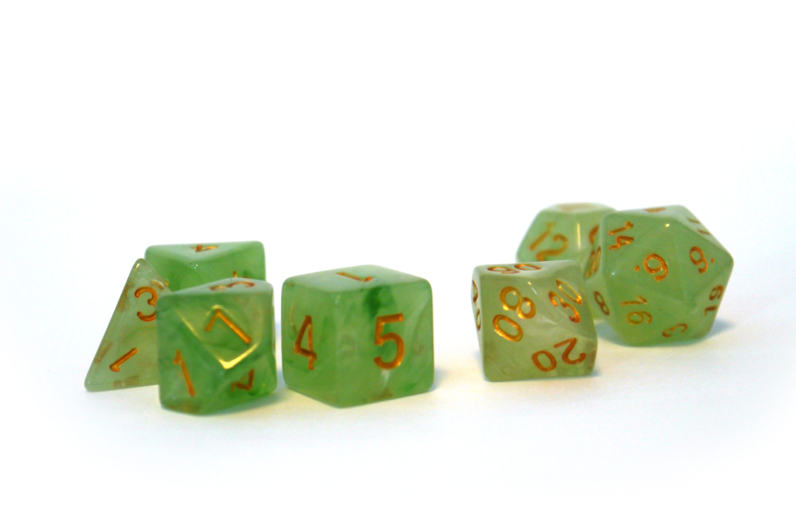 RPG Wuerfel Set Frosted Mojito