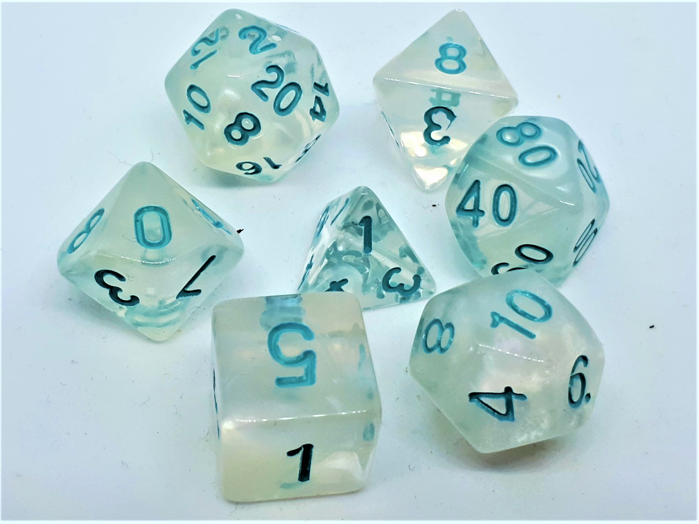 RPG Wuerfel Set Frosted Princess